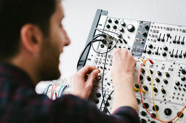 Mike Shannon modular synth